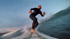 20160926 Surfing at the Plage de Goulien (MikeySee) Tags: mikecurdphotography mikeysee mike mikeysee123 curd france brittany bretagne finistere finistére presquile presquiledecrozon surf surfer surfing surfboard sea beach wave waves watersports coast coastline selfie seflie selfy blue goulien plage billabong wetsuit bic longboard 9 9foot gopro goprohero4 hero4 mikecurd instagram