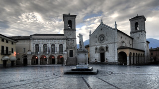 the earthquake hit Norcia. ( Explore )
