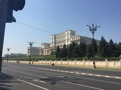 Palace of the Parliament, Bucharest (David Jones) Tags: bucharest palaceoftheparliament bulevardullibertii