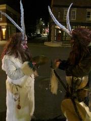 Salem Krampuslauf 2016 3 (Cutting Monkey) Tags: krampus krampuslauf salem costume horns demon
