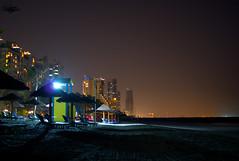 Beach@night (zbma Martin Photography) Tags: dubai ajman adschman uae vae beach strand sand kempinsky hotel sansibar sea ocean meer