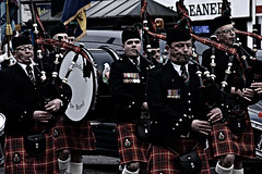 Building up steam (Steve.T.) Tags: bagpipes pipeband pipers caledonianpipeband witham essex parade veteransday kilts kilt nikon d7200 blowing playing music remembrance remembranceday poppyday remembrancedayparade faces facialexpression