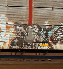 Unknown, Robot, Byrd, Neenah, 12 Nov 16 (kkaf) Tags: neenah byrd unknown robot graffiti