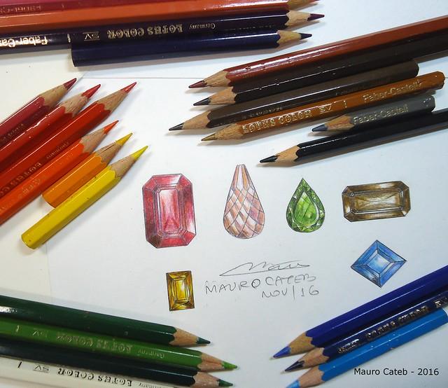 色鉛筆の名前・色・値段の種類と特徴・相性が良い紙|水彩