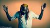 Boss (Heidi Zech Photography) Tags: bass bassist portrait jamaican jamaicanmusician jamaicanbassplayer dreadlocks coloureddreadlocks
