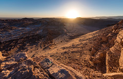 Sunset at the Mirador de Kari (Mark McCaughrean) Tags: atacama desert valledelaluna sanpedrodeatacama