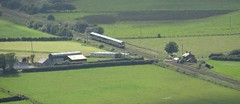 NIR 4000 Class DMU, Magilligan, August 2016 (nathanlawrence785) Tags: nir class 4000 caf c4k londonderry derry railway line train track magilligan county bellarena castlerock benevenagh mussenden halt station lc ahb level crossing