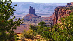 Candlestick Tower (blacky_hs) Tags: candlestick tower canyonlands national park utah murphy point trail island sky red rocks sandstone canyons buttes cliffs white rim steer mesa green river