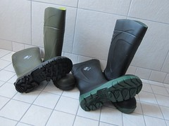 New and old Bekina StepliteX (Noraboots1) Tags: bekina steplitex rubber boots wellies gummistvler arbejdstj gummistiefel laarzen