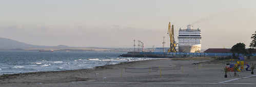 View to Port of Burgas, 09.10.2014.
