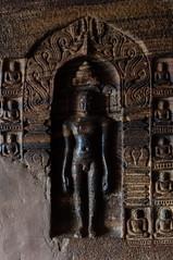 Badami cave detail (KeithDM) Tags: india stone carving column karnataka badami chalukya