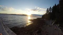 Sunset over rising tide - timelapse (jd.willson) Tags: sunset island bay timelapse video time tide maine jd lapse penobscot willson islesboro gopro
