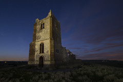 A New Dimension (RattyBoots) Tags: church night stars prime ruin astro burrowmump somersetlevels burrowbridge 5d3 samyang14mm 5diii august2015canon