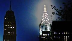 midtown gems (simply innocuous) Tags: nyc sky building night skyscraper top manhattan lexington apex artdeco chrysler zenith chanin