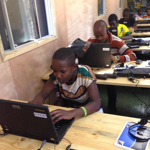 "Idda. Riziki, kelvin, and Maria hard at work in their new classroom!! @arrowelectronics #sponsorachild #digitruck • <a style=""font-size:0.8em;"" href=""http://www.flickr.com/photos/59879797@N06/20700587581/"" target=""_blank"">View on Flickr</a>"
