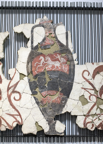 Painted amphora from Phase II of the Maglizh tomb