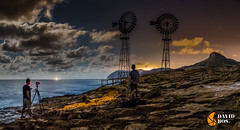 CAPTANDO EL MOMENTO (David Ros Photography) Tags: españa noche playa panoramic luna panoramica nubes estrellas nocturna cartagena molinos startrail largaexposicion calblanque circumpolar fotografianocturna samyang canon6d davidros