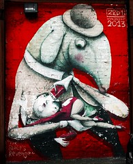 The Sheep's Revenge (Rhisiart Hincks) Tags: red england streetart rouge graffiti rojo mural sheep lancashire angleterre rd rosso blackpool mouton inghilterra  lloegr fylde piros   dafad dearg  erven ruz ardi ingalaterra brosaoz sirgaerhirfryn sasana gorri davad penndavad fyldecoast   anglie murlun  anglaterra punane rou sarkans raudonas caora powsows sasainn  livadurmoger angletrra  ngilandi celfystryd