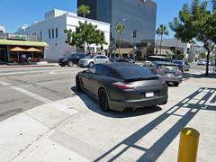 Porsche Panamera Turbo (lucre101) Tags: california vacation usa sun black west cali america georgia fun coast flat pacific sunny southern turbo socal porsche panamera