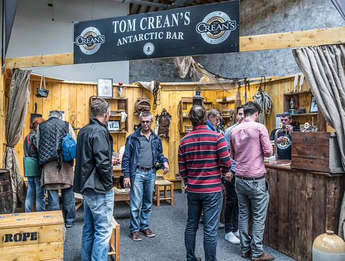 IRISH CRAFT BEER FESTIVAL IN THE RDS LAST WEEKEND IN AUGUST 2015 [Tom Crean's Antarctic Bar] REF-107289