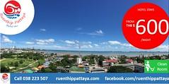 Hotel stay at Ruenthip Pattaya เรือนทิพย์พัทยา starting from 600 THB Call for RSVN at  038 223 507
