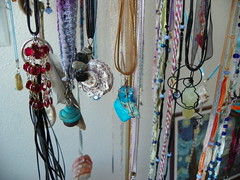 Barefoot Hippies (Barefoot Hippies) Tags: barefoot hippies newport oregon wire wrap art jewelry ooak bridesmaid earrings bride wedding flower girl flowergirl hair tiara bobbypin gallery coast beach buddhist neciah nectarhoney morrison yachats