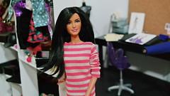 Viviannes's Bedroom (Fher Dolls) Tags: 3 doll barbie diorama dhoom