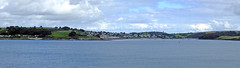 St Mawes from Pendennis Point (Cornishcarolin. Stupid busy!! xx) Tags: castles cornwall panoramas villages rivers falmouth stmawes stmawescastle carrickroads theriverfal