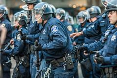 Oakland 2010 (Thomas Hawk) Tags: california usa oakland riot cops unitedstates fav50 unitedstatesofamerica protest police cop eastbay riots oaklandpd fav10 fav25 oaklandpolicedepartment oscargrant oaklandriots johannesmersehle oaklandca070810 oaklandriots2010