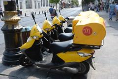Mac Istanbul (pineider) Tags: bike turkey mac europe boobs euro titts scooter donald topless turchia