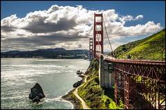 Under the bridge (BM-Licht) Tags: sf sanfrancisco california city usa west bay coast nikon unitedstates goldengate stadt bayarea amerika westcoast kalifornien westküste vereinigtestaaten d7000 vereinigtesttatenvonamerika