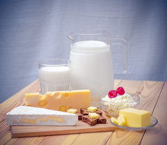 Got milk? (Leonid Yaitskiy) Tags: wood blue test glass cheese wooden milk berry nikon berries shot bokeh background board united uae cottage advertisement emirates butter arab mm brie dairy nikkor 50 abu dhabi fifty nifty glassware challange dyi leonid d610 masdaam iaitskyi
