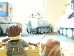 19. April 1945 (-PanzerGrenadier1-) Tags: world red 2 two berlin germany army war flickr tank lego russia hitler ss battle v german soviet ww2 adolf panther diorama 250 tanks halftrack alte wehrmacht waffen 251 kameraden sdkfz panzerkampfwagen panzergrenadier1