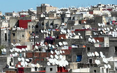 fez antennas (kexi) Tags: africa march tv view many samsung morocco fez maroc plenty fes antennas 2015 maroko instantfave wb690
