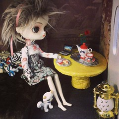 DIY - Quarto de Vivia feat Delicias da Dinda! (MariMahe) Tags: doll olivia dal monomono