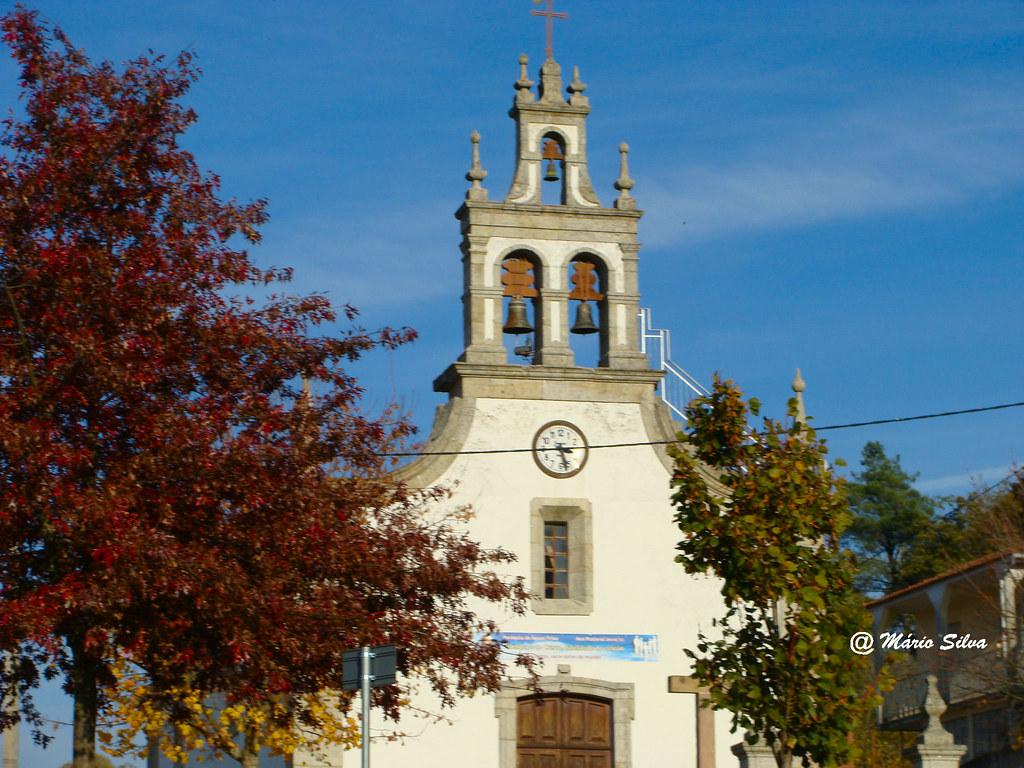 Águas Frias (Chaves) - ... Igreja Matriz - nov 2010