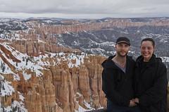 Bryce Canyon 5 (EnviroTrekker) Tags: park portrait snow landscape march utah spring ut sandstone desert hiking canyon national bryce