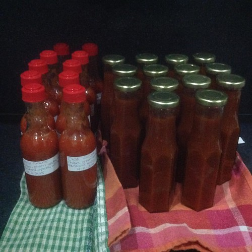 Ok today was the Chilli Sauce and the Spicy
