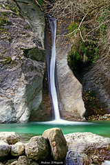 Waterfall in Apuans Chain (Darea62) Tags: apuans waterfall altissimo stream longexposure azzano stones rocks versilia creek seravezza malbacco pozzodellamadonna wood forest nature