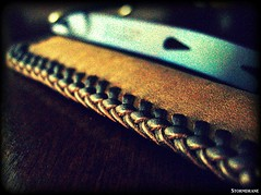 'The Double Looop' leather laced sheath/pouch (Stormdrane) Tags: door make leather bar pen diy keychain keyring key loop handmade lock lace knife tie craft knot hobby double needle howto geocache stitching straight pocket edc curved titanium ti weave braid scouting pry fob gaucho everydaycarry lanyard attach laced widgy beprepared monkeyfist bushcraft turkshead prybar flashllight countycomm stormdrane