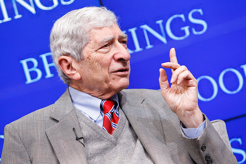 "Marvin Kalb speaks at his Brookings book launch: ""Putin's Crimean gamble: Russia, Ukraine, and the new Cold War"""
