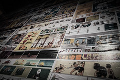 [100/365] (augustosakai) Tags: wall nikon comic humor decoração parede quadrinhos d90 project365 museudalinguaportuguesa projeto365 augustosakai