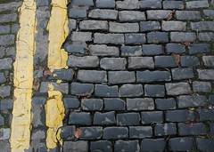 Cobbles and double yellows (Dai Lygad) Tags: cobbles cobbledstreet street doubleyellow doubleyellowline doubleyellowlines detail geotagged freetouse stock stockphoto creativecommons attribution license licence canon 400d eos photo photograph image picture parklane cathays 20x20 pechakucha photography yellow pavs pave rue cobblestone cobblestones road lane cobblestoned flickr cardiff caerdydd city jeremysegrott dailygad wales cymru uk unitedkingdom britain greatbritain paysdegalles pasdegales