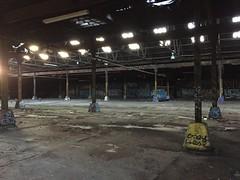 IMG_5504 (Hypurban) Tags: nyc newyork abandoned brooklyn graffiti head warehouse wax smells abandonedwarehouse brooklyngraffiti waxhead graffitiyard cash4