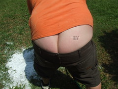 E's crack 3 (I.E. Bear II) Tags: friend handsome sexy guapo barrigon chub chubby thick stocky hot big fat man guy dude bear bubba pansa panza panzon panson gordo moobs belly beerbelly bellies gut hairy furry butt ass crack buttcrack asscrack plumbers builders bum cofrinho coinslot freeballing commando nounderwear nochonies