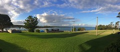 View from the pub (petes_travels) Tags: beach huskisson jervis bay new south wales australia pub garden