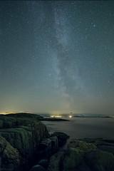 Night sky (B_Olsen) Tags: milkyway melkeveien landscape astrophotograpy nightphoto senja troms norway nikond810a longexposure nightsky