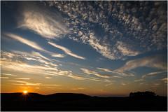 The Sunset . (:: Blende 22 ::) Tags: germany deutschland thuringia thringen eichsfeld heilbadheiligenstadt sunset sonnenuntergang clouds sun sonne wolken light licht himmel sky canon canoneosd canoneos5dmarkiv ef2470mmf28liiusm