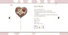 Belfine Love Heart (screenshot) (zazou.ciocolata) Tags: belfine belgium 3034cocoa milkchocolate chocolatefigure valentinesday whitechocolate chocolatedecoration screenshot