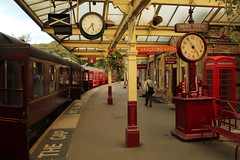 Bradford Exchange Train (JamesHorrellPhotography) Tags: steam trains kwvr haworth keighley 43924 90733 5820 7822 railway